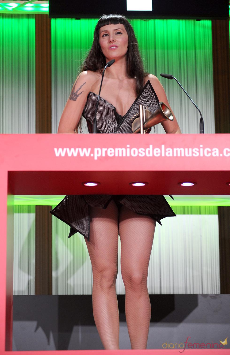 La Mala Rodríguez durante los Premios de la Música 2011