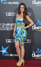 Alicia Sanz en el estreno en Madrid de 'Piratas del Caribe 4'