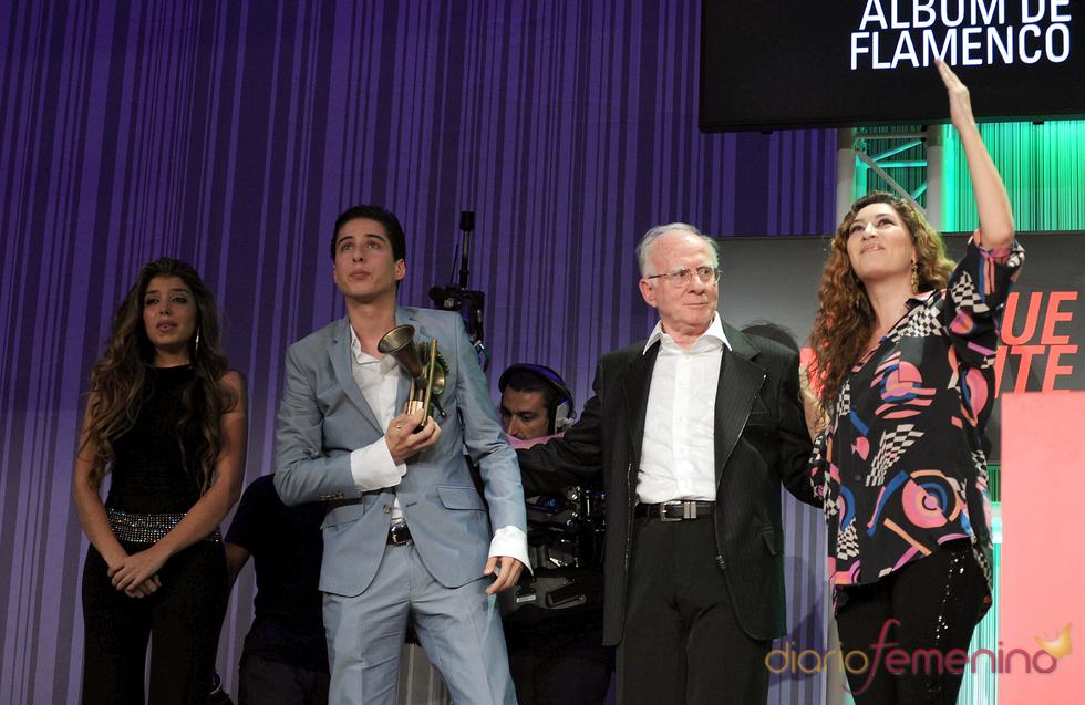 Sentido homenaje a Enrique Morente en los Premios de la Música 2011