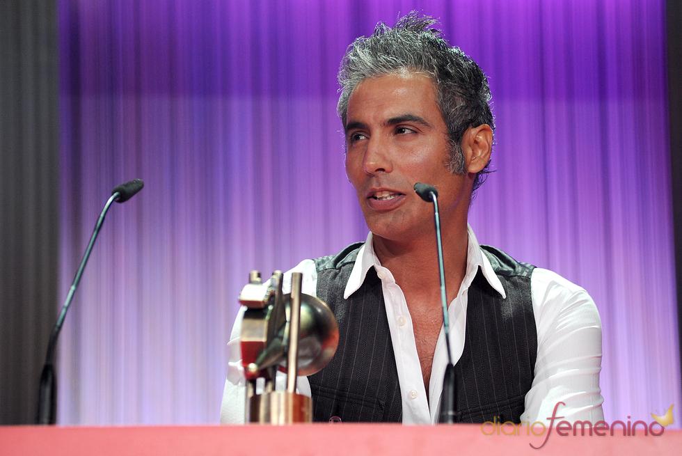 Pintingo durante la gala de los Premios de la Música 2011