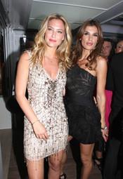 Bar Refaeli y Elisabetta Canalis en Cannes