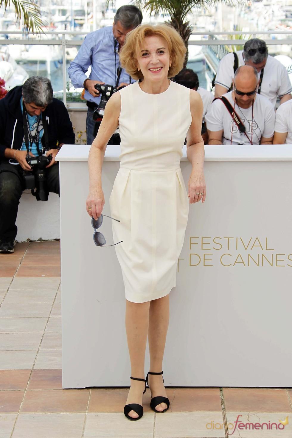Marisa Paredes en la presentación en Cannes de 'La piel que habito'