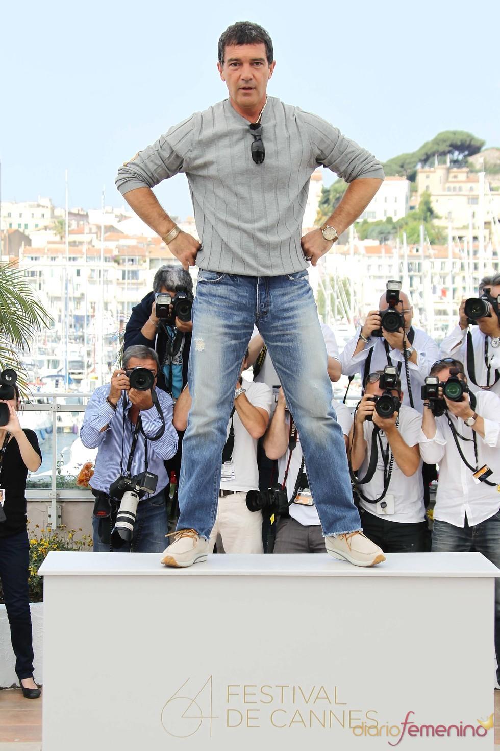 Antonio Banderas presenta en Cannes 'La piel que habito'