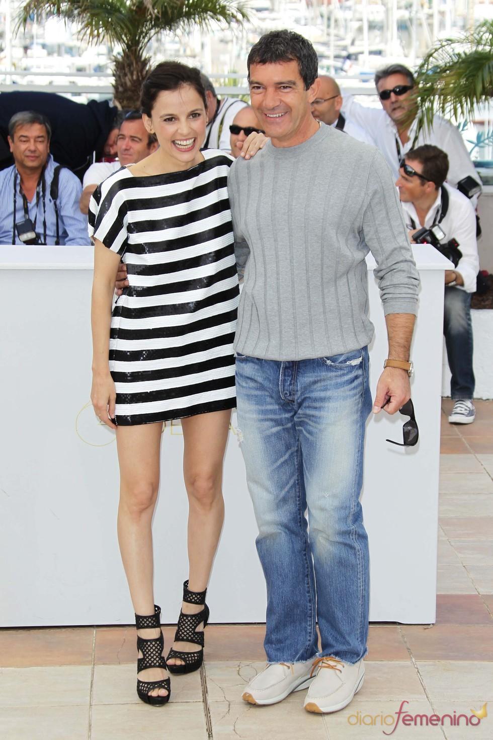 Antonio Banderas y Elena Anaya presentan 'La piel que habito' en Cannes