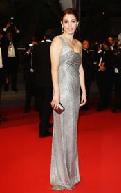 Blanca Suárez en la presentación de 'La piel que habito' en Cannes 2011