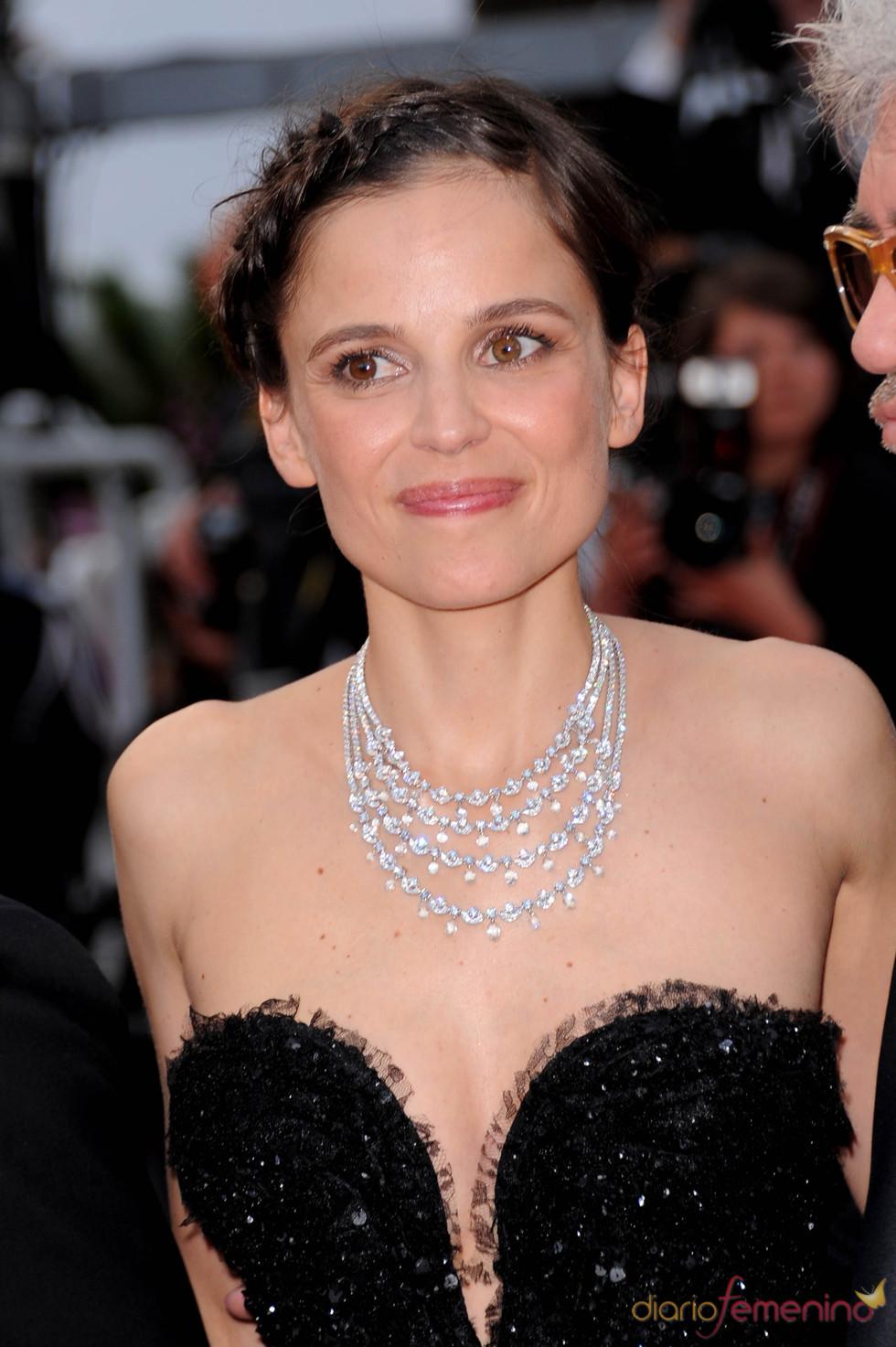 Elena Anaya en la presentación de 'La piel que habito' en Cannes 2011