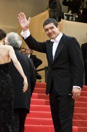Antonio Banderas en la presentación de 'La piel que habito' en Cannes 2011