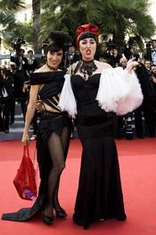 Rossy de Palma en la presentación de 'La piel que habito' en Cannes 2011