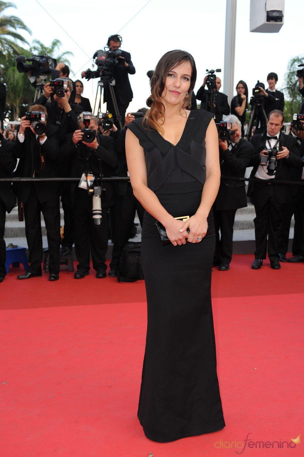 Martina Gusman en la presentación de 'La piel que habito' en Cannes 2011