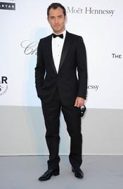 Jude Law en la gala benéfica contra el sida de Cannes 2011