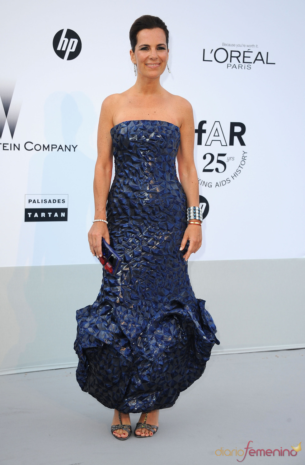 Roberta Armani en la gala benéfica contra el sida de Cannes 2011