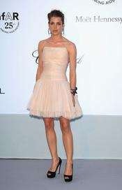 Carlota Casiraghi en la gala benéfica contra el sida de Cannes 2011