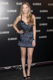 Laura Hayden en la 11 edición de los Premios Glamour y Belleza