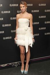 Natasha Yarovenko en la 11 edición de los Premios Glamour y Belleza