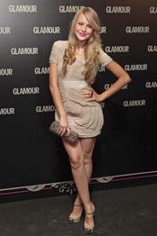 Esmeralda Moya en la 11 edición de los Premios Glamour y Belleza