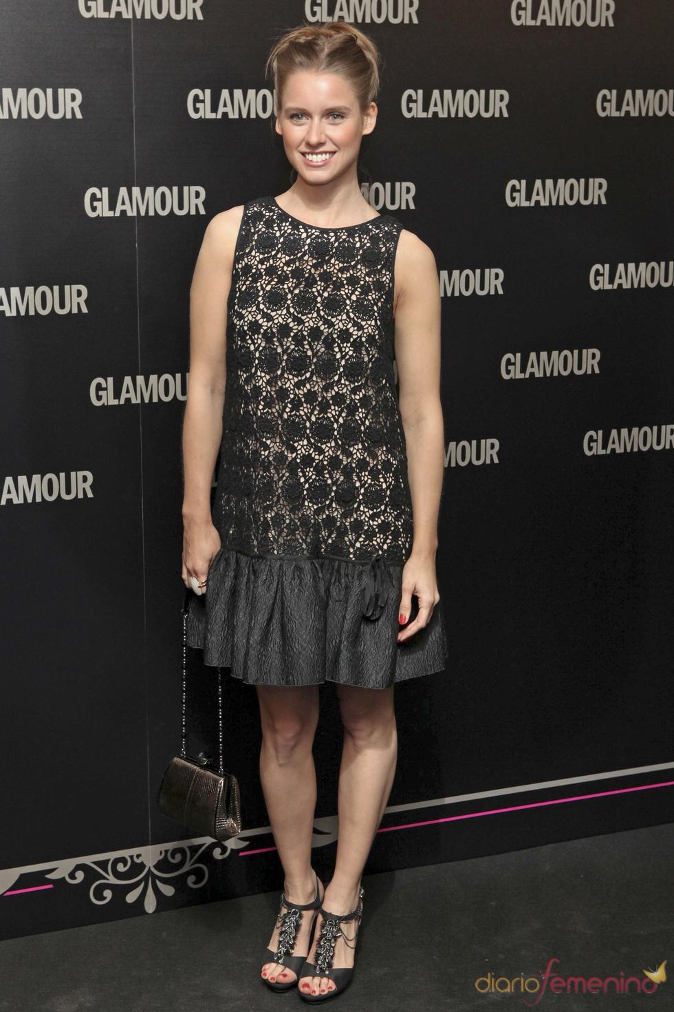 Manuela Velles en la 11 edición de los Premios Glamour y Belleza
