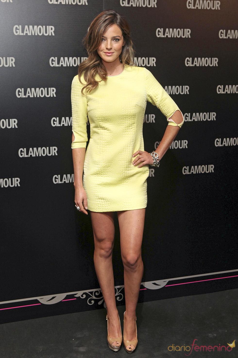 Aída Artiles en la 11 edición de los Premios Glamour y Belleza