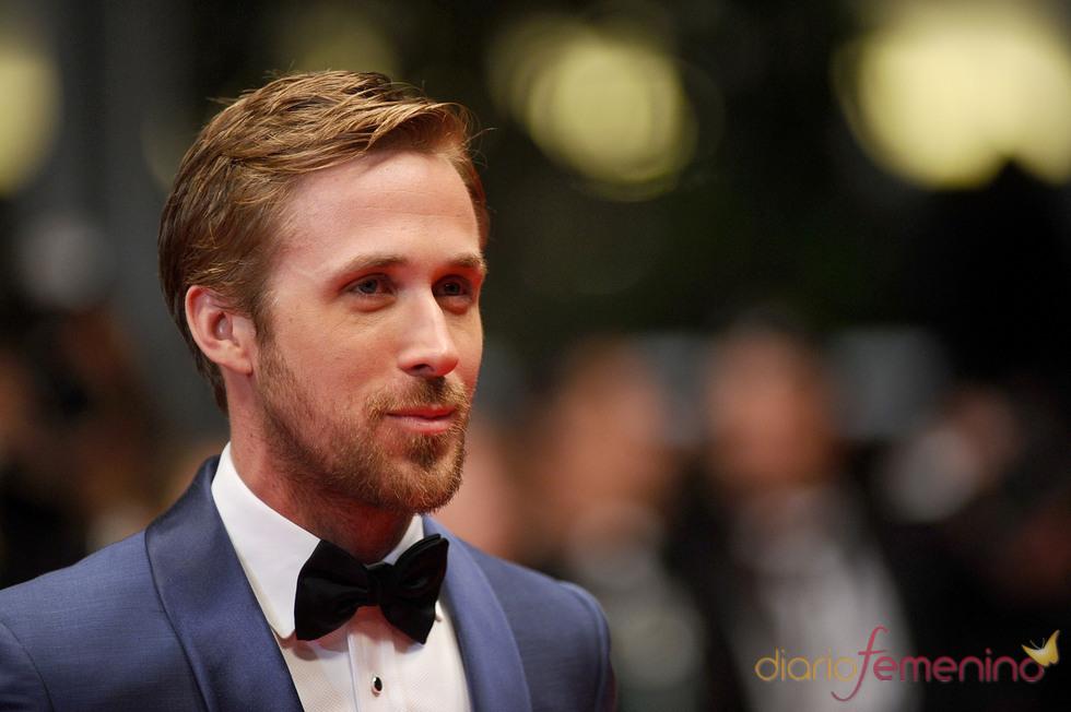 Ryan Gosling posa durante la premier de 'Drive'