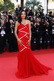 Rosario Dawson en la premier de 'This Must Be The Place' en Cannes 2011