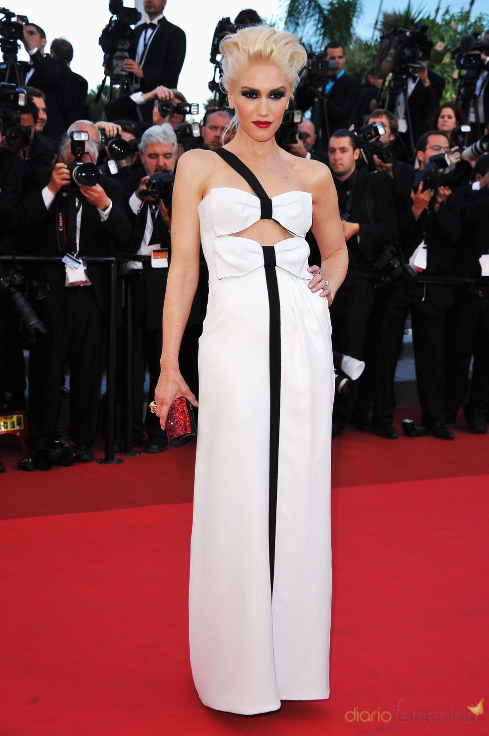 Gwen Stefani en la premier de 'This Must Be The Place' en Cannes 2011