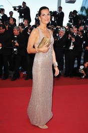 Roberta Armani en la premier de 'This Must be the Place' en Cannes 2011