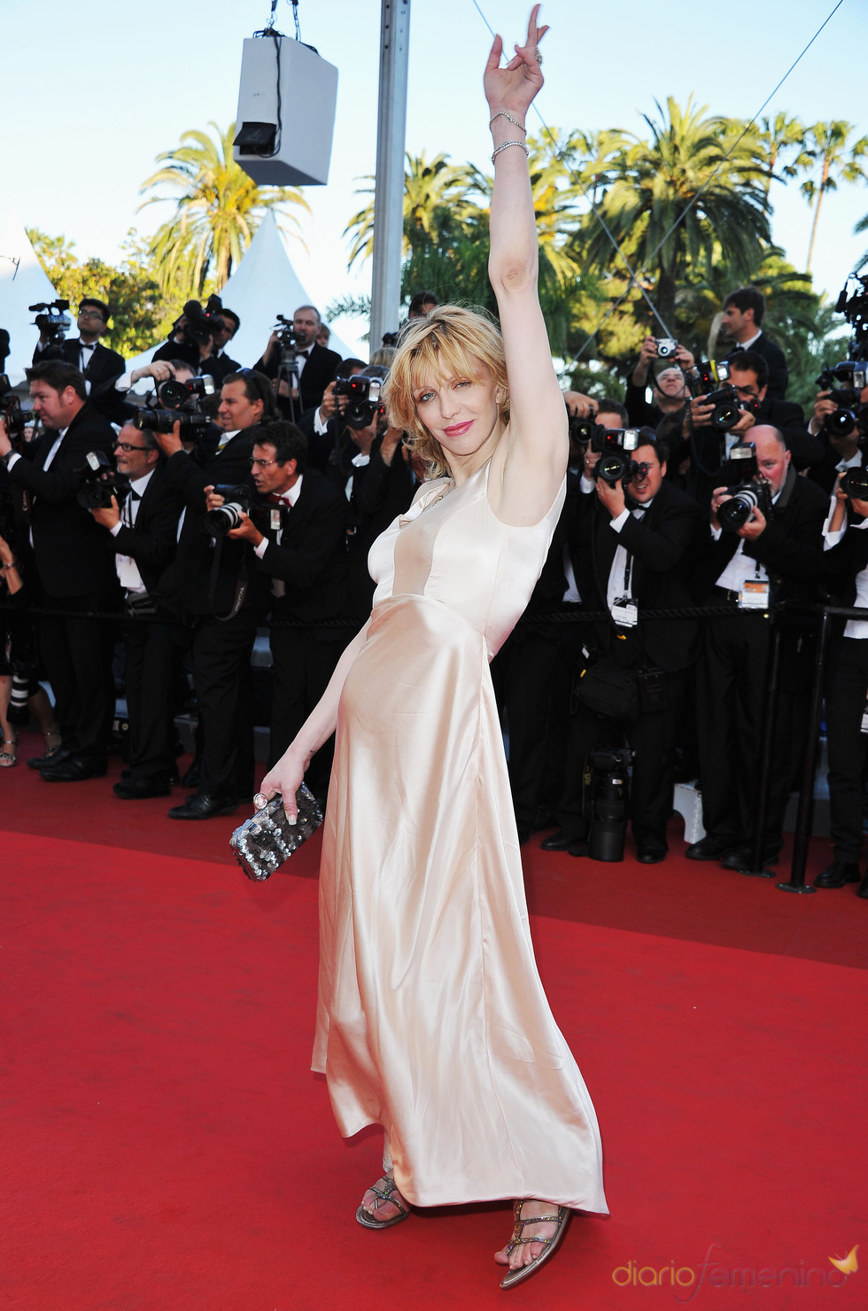 Courtney Love en la premier de 'This must be the plase' en Cannes 2011