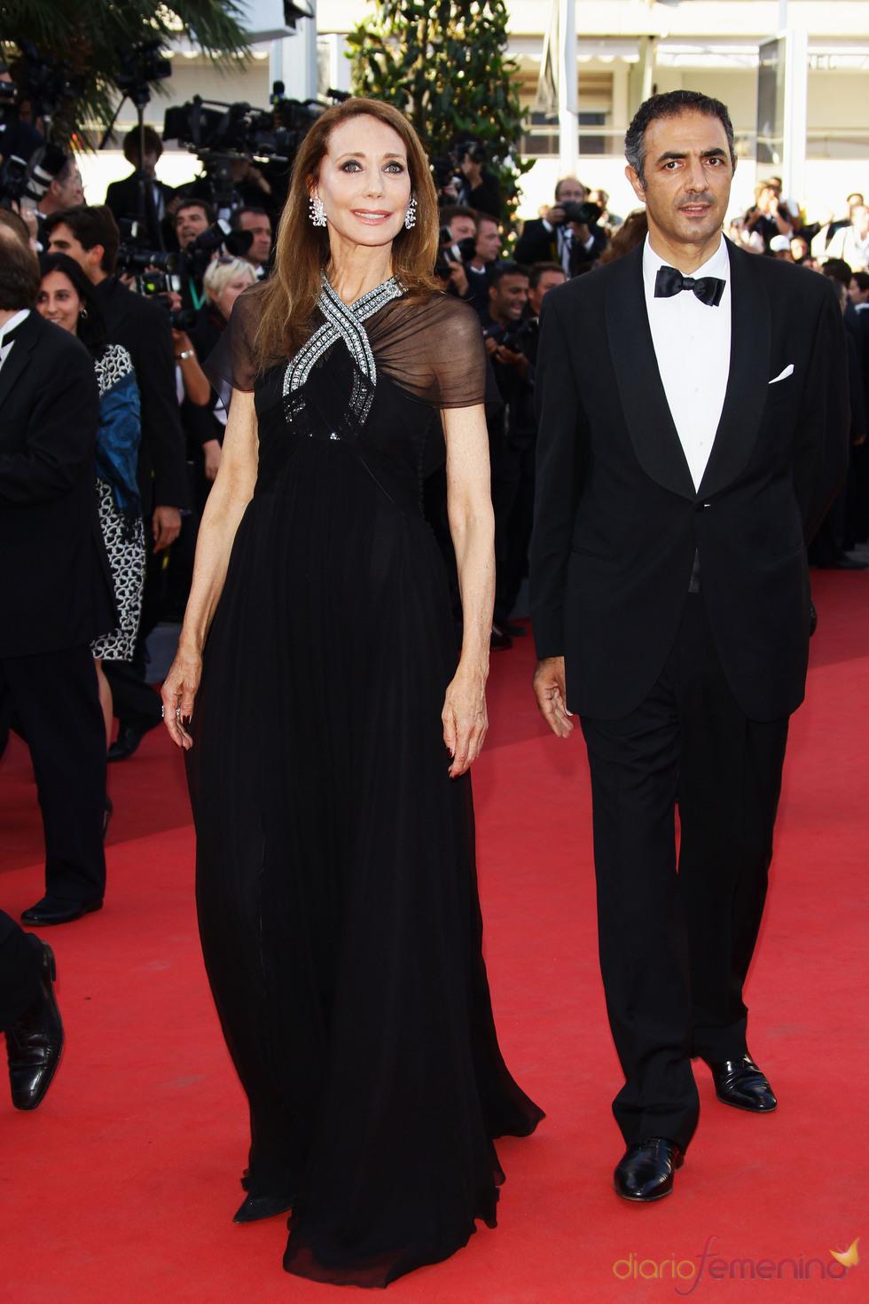 Marisa Berenson en la premier de 'This must be the place' en Cannes 2011