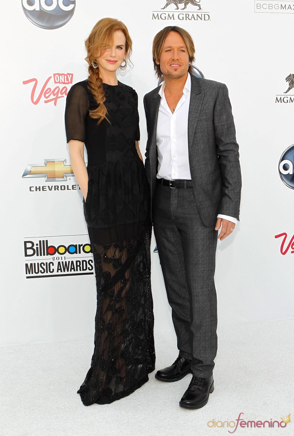 Nicole Kidman y Keith Urban en los Billboard Music Awards 2011