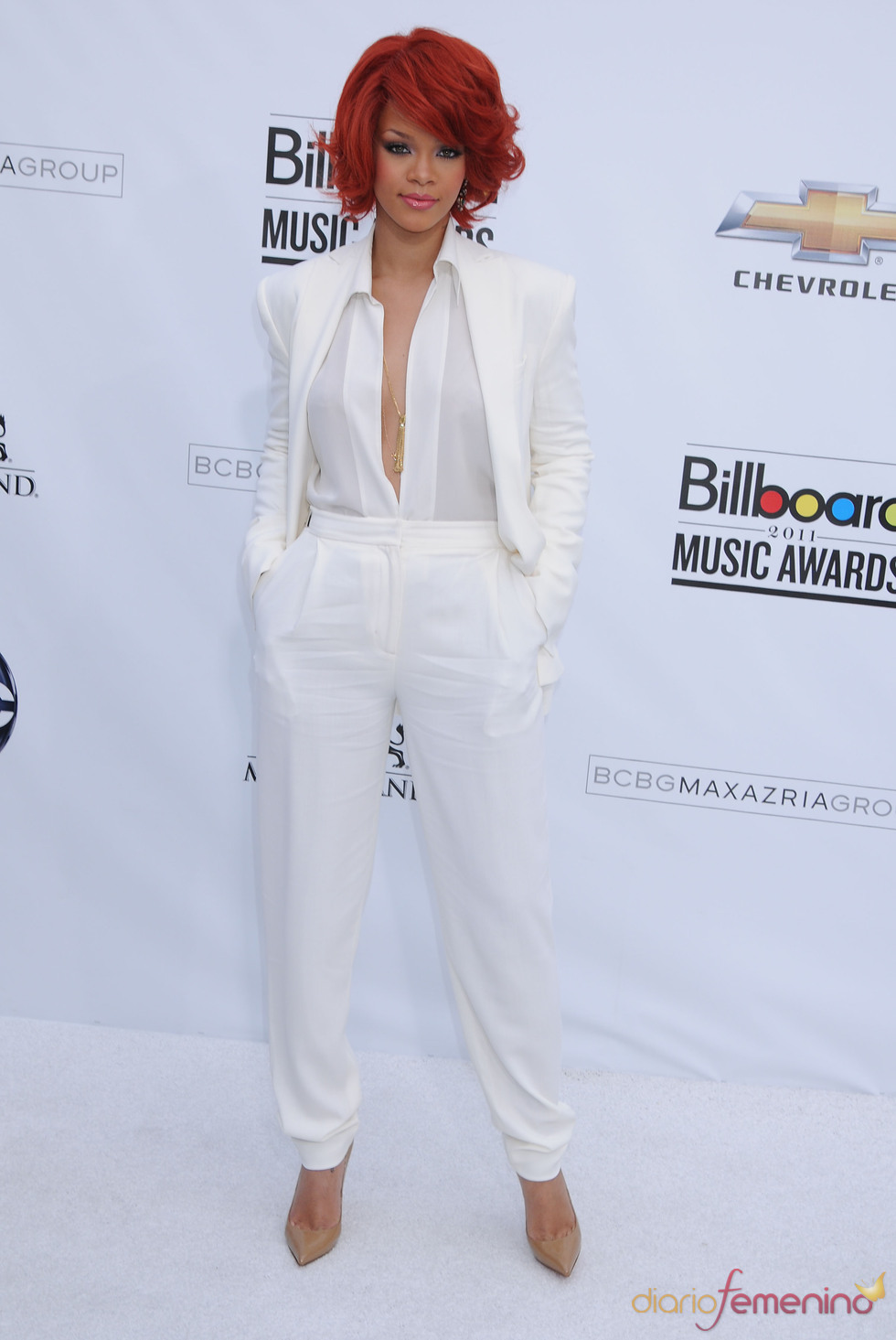 Rihanna en los Billboard Music Awards 2011