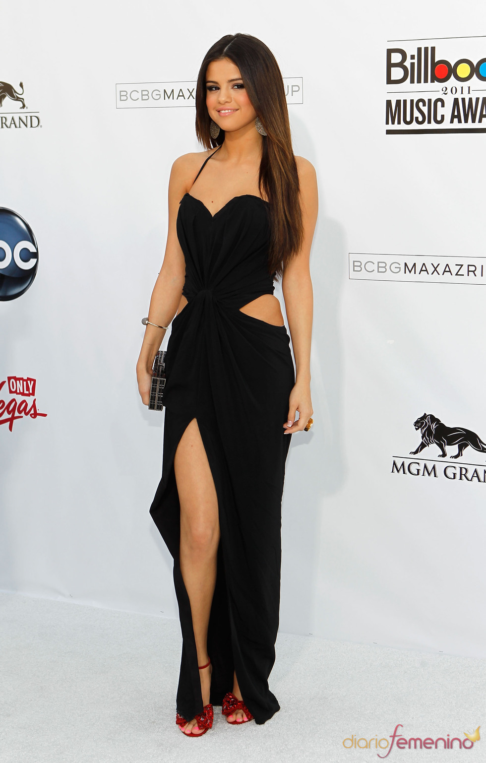 Selena Gomez en los Billboard Music Awards 2011