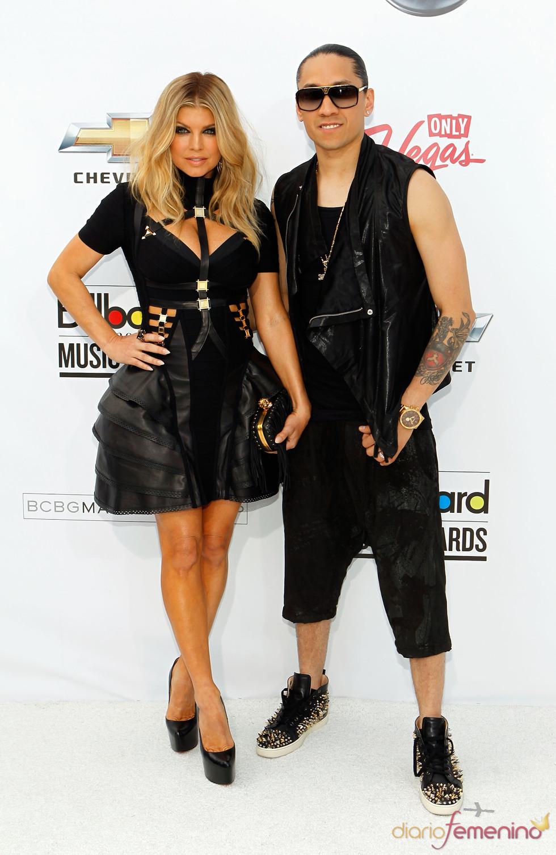 Fergie y Taboo en los Billboard Music Awards 2011