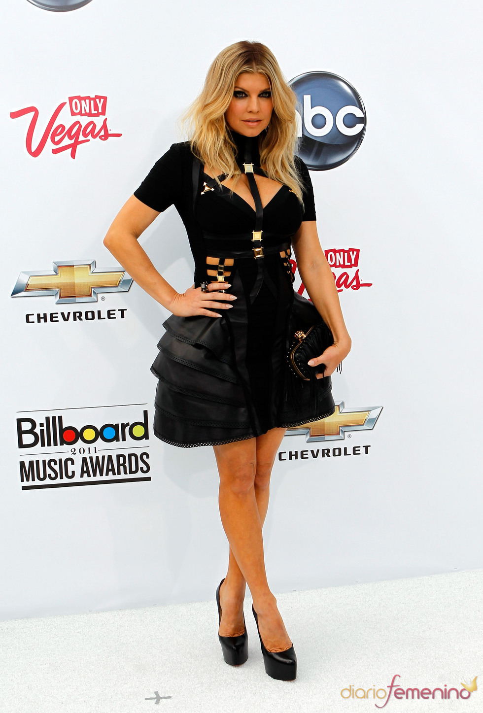 Fergie en los Billboard Music Awards 2011