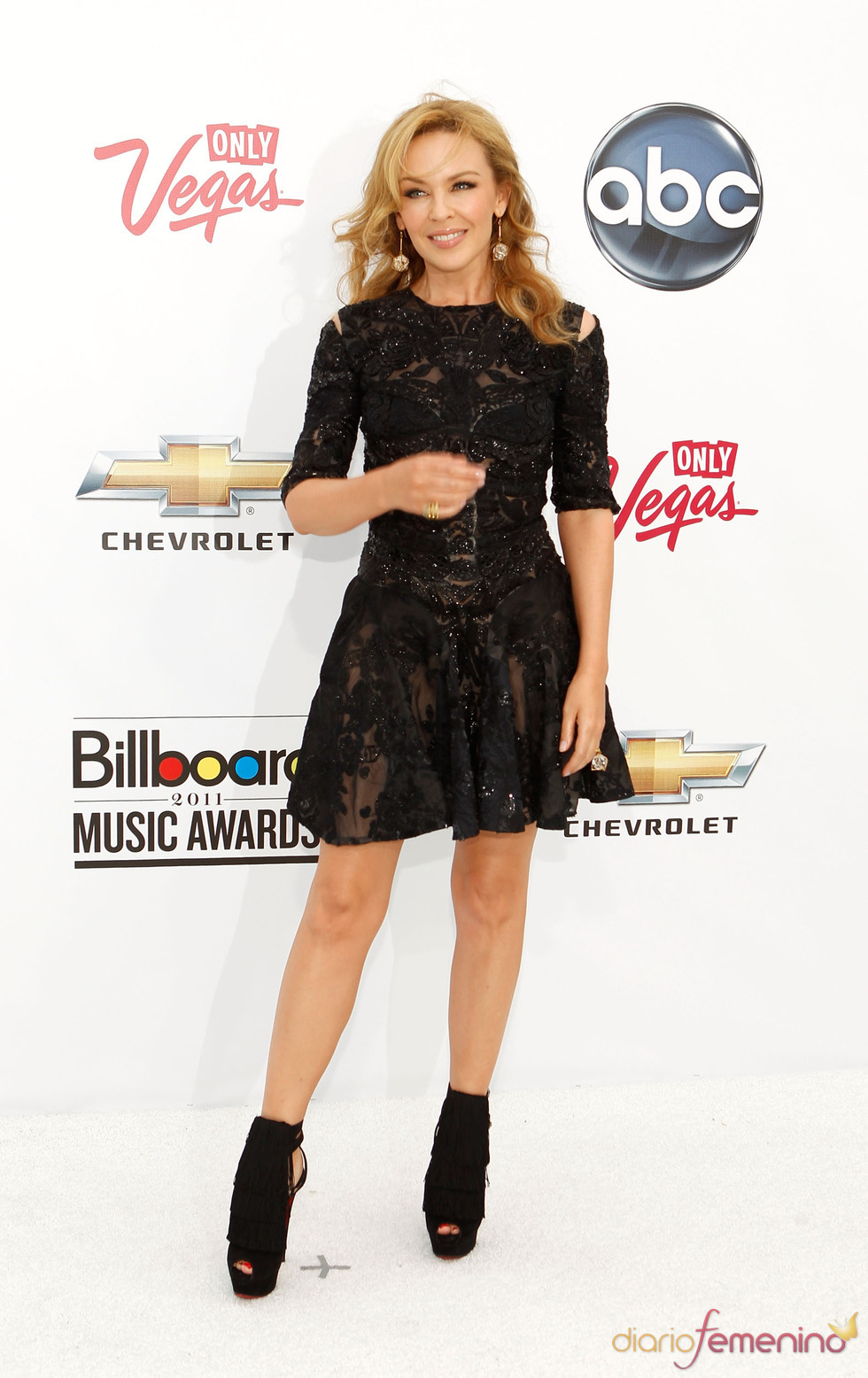 Kylie Minogue en los Billboard Music Awards 2011