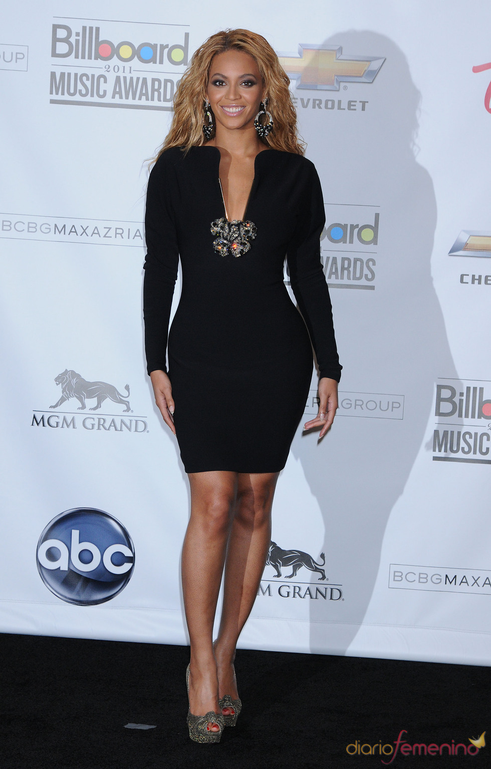 Beyoncé en los Billboard Music Awards 2011
