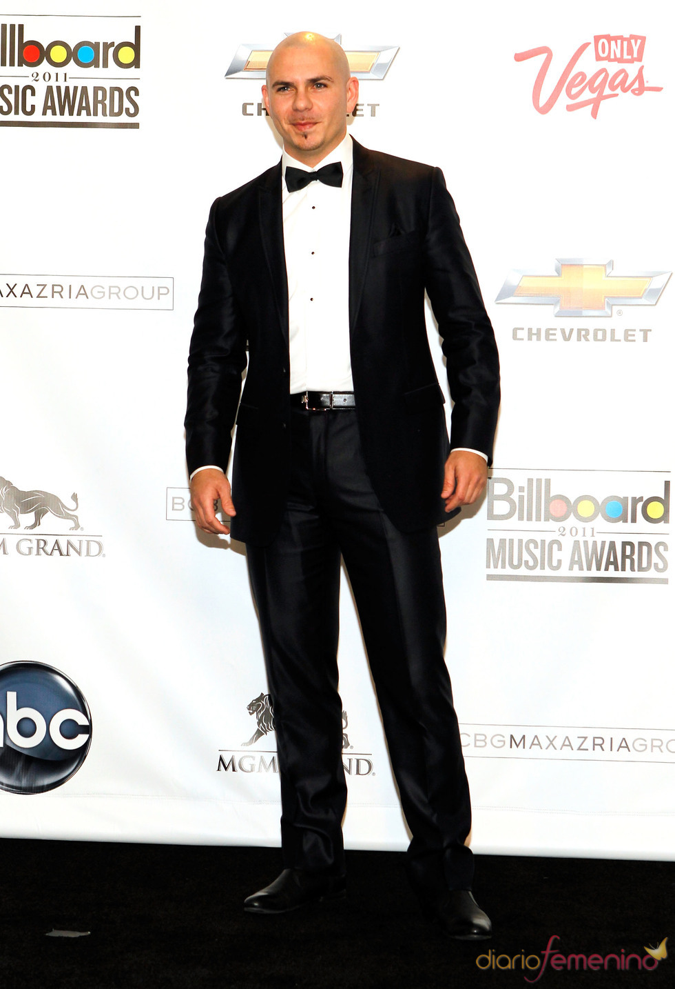Pitbull en los Billboard Music Awards 2011