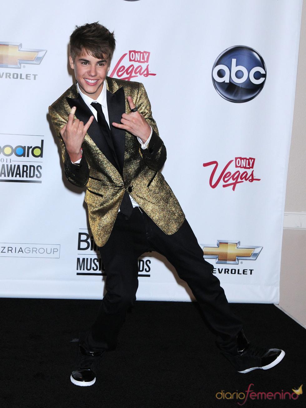Justin Bieber en los Billboard Music Awards 2011