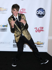 Justin Bieber en los Billboard Music Awards 2011