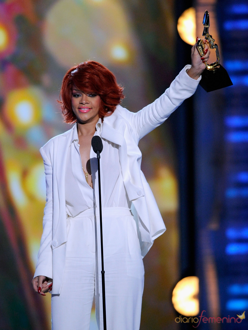 Rihanna recoge su Billboard Music Awards 2011