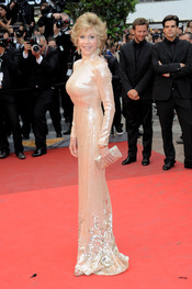 Jane Fonda en la ceremonia de Clausura de Cannes 2011