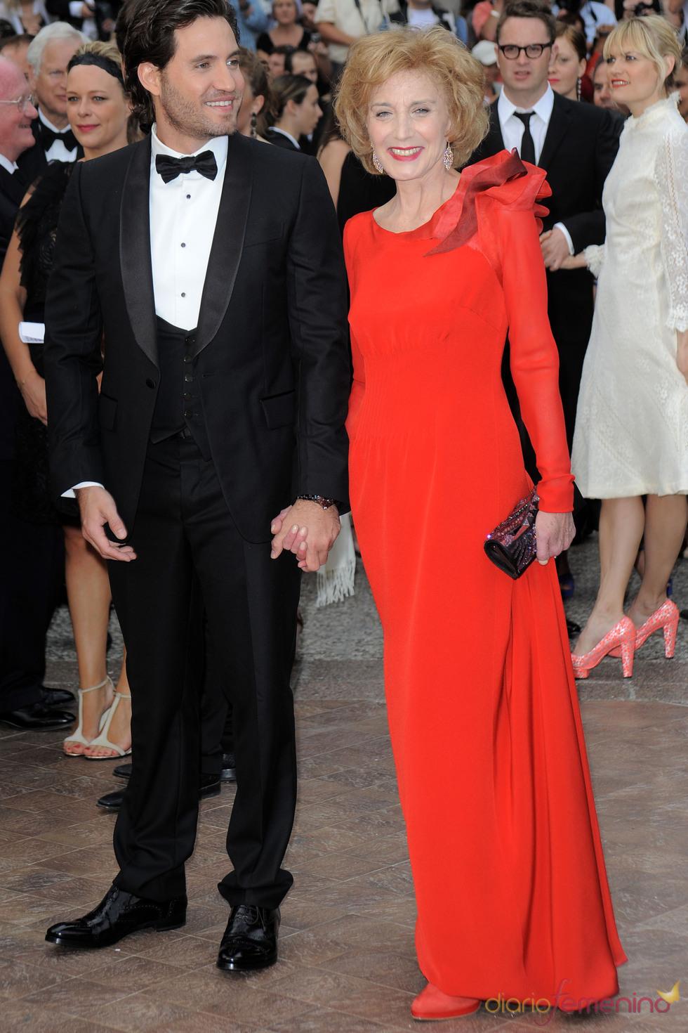 Marisa Paredes en la ceremonia de Clausura de Cannes 2011