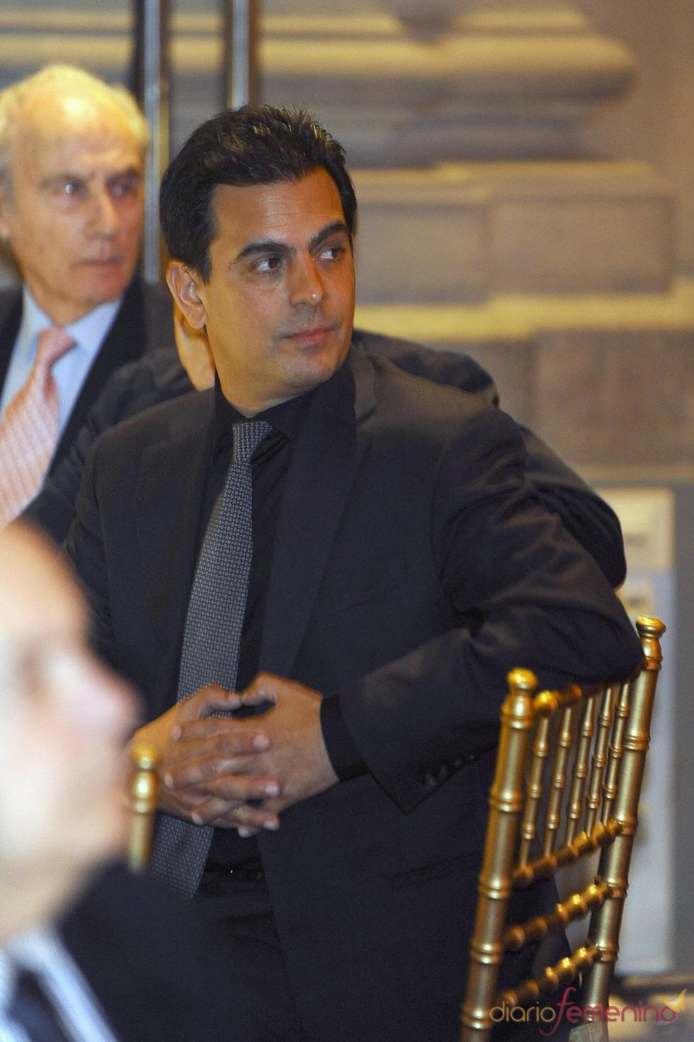 Gonzalo Vargas Llosa en los Premios Paquiro 2011