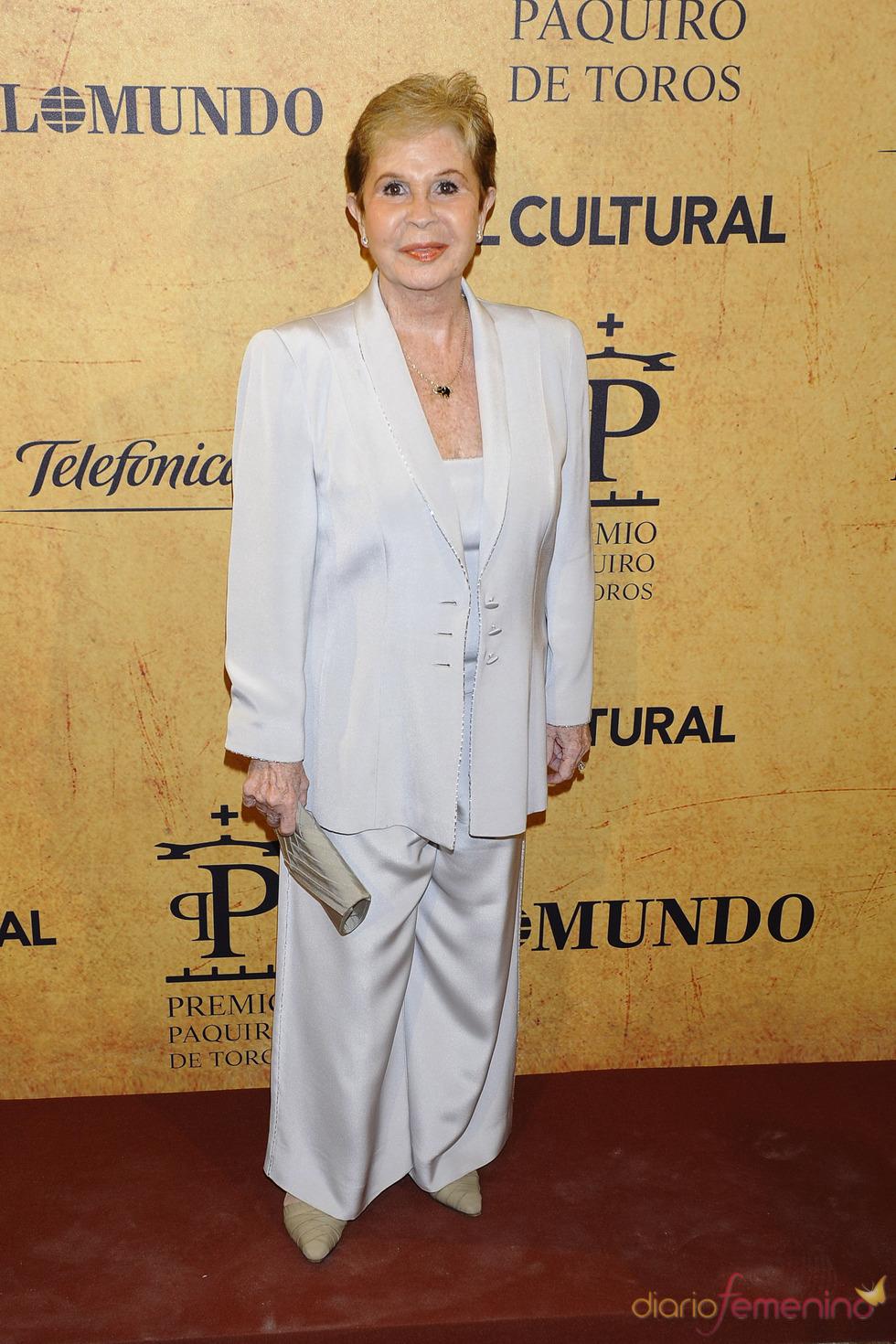 Lina Morgan en los Premios Paquiro 2011