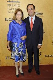 José Bono y Natalia Figueroa en los Premios Paquiro 2011