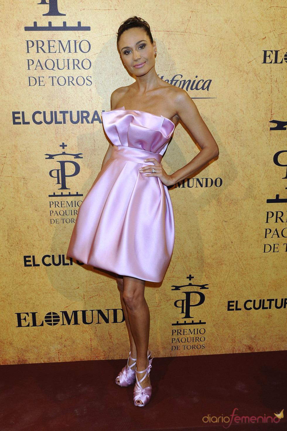 Juncal Rivero en los Premios Paquiro 2011