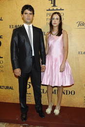 Miguel Abellán y su novio en los Premios Paquiro 2011