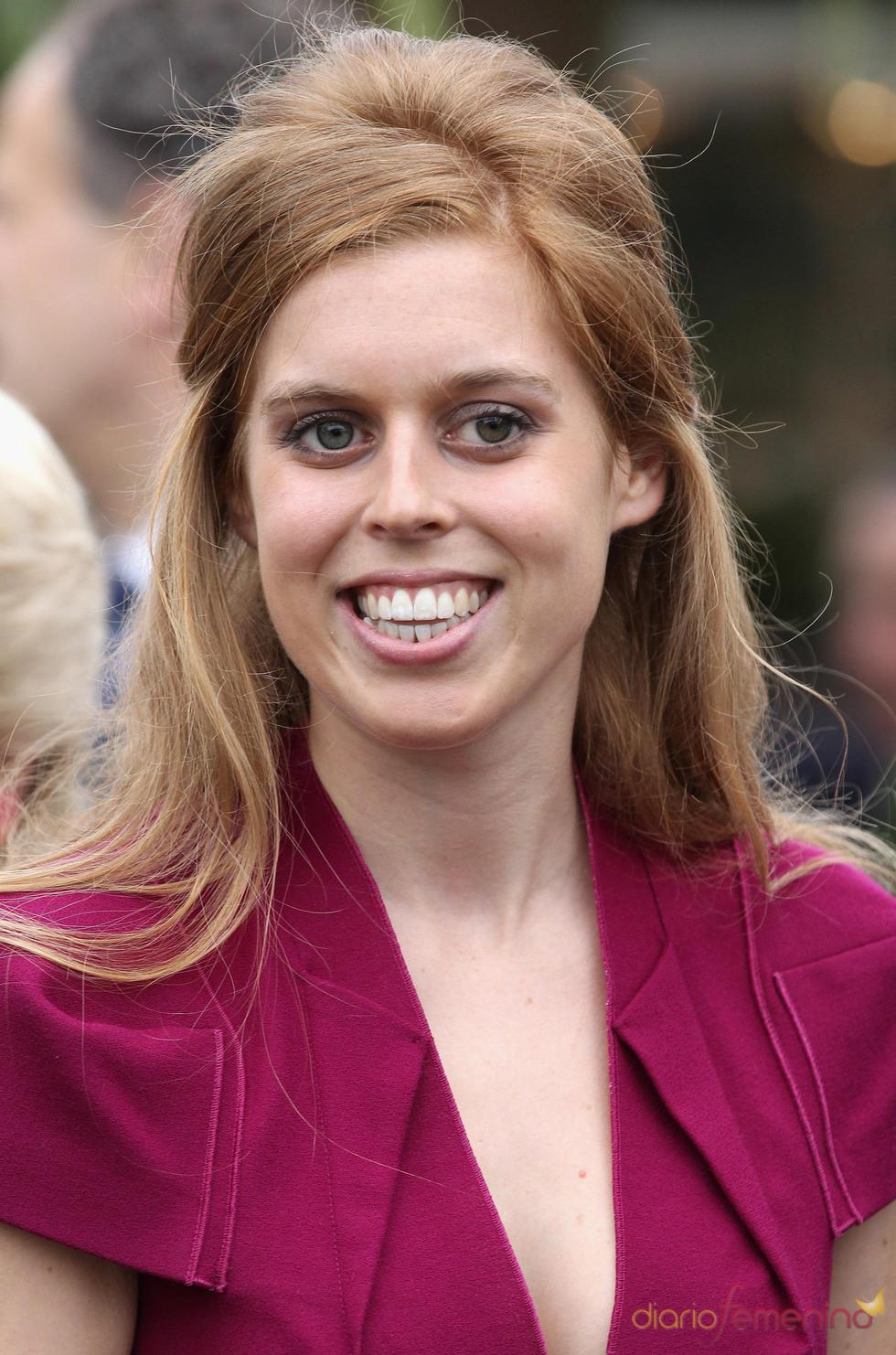 La princesa Beatriz, hija de los duques de York