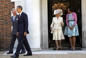 Barack Obama y Michelle con Carlos de Inglaterra y su esposa Camilla en Londres