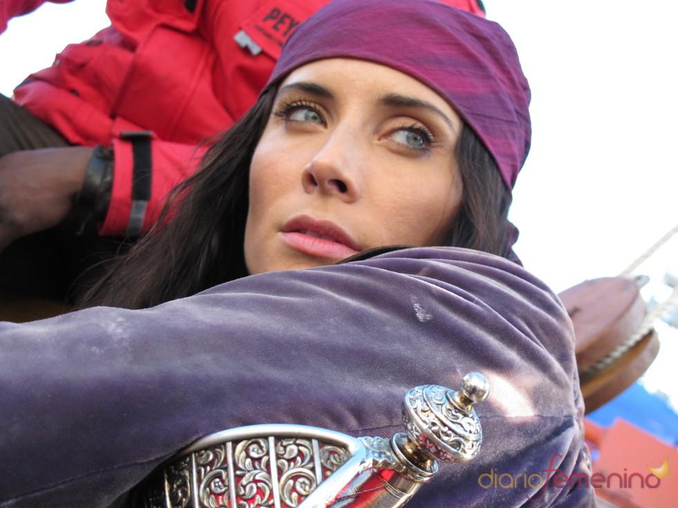 Pilar Rubio es la pirata Carmen Bocanegra