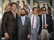 Bradley Cooper, Zach Galifianakis, Ed Helms y Todd Phillips en la premiere de 'Resacón 2'