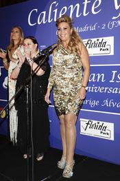 Raquel Mosquera en los Premios Bombines de Oro 2011